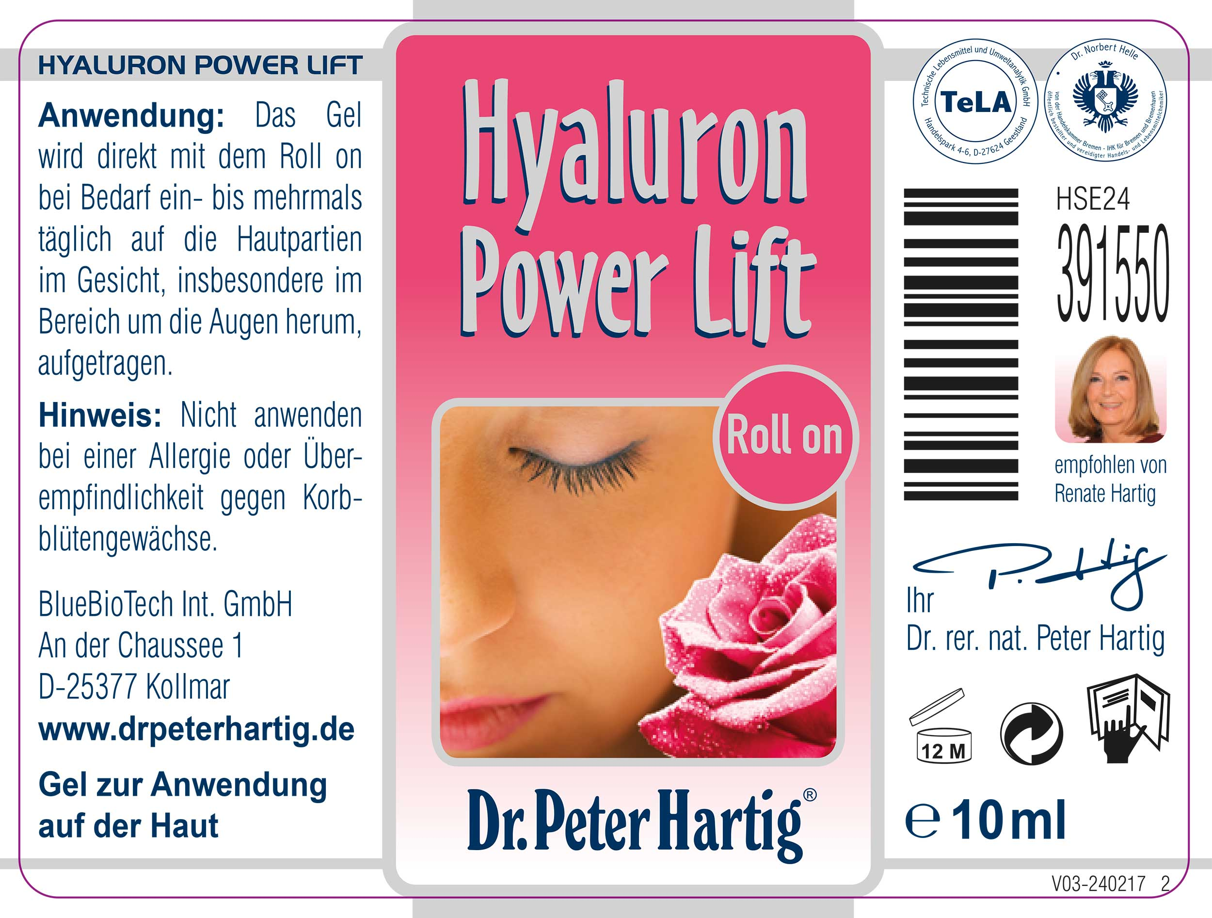 Product Etikett